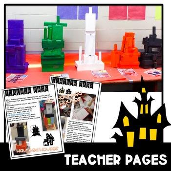Halloween Haunted House STEM Challenge