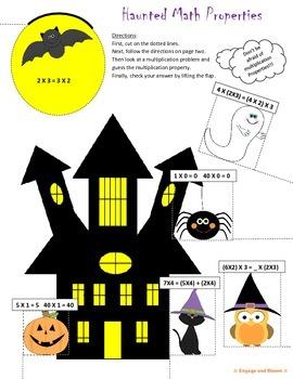 Halloween ~ Haunted Multiplication Properties