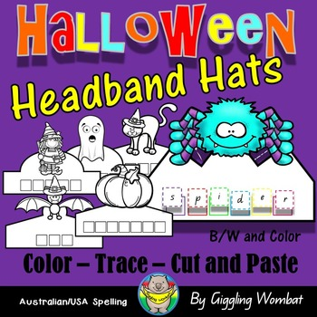 Halloween Headband Hats.