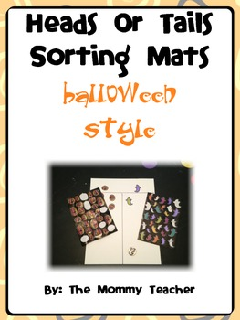 Halloween Sorting Mats and Playing Cards
