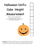 Halloween Height Nonstandard Measurement
