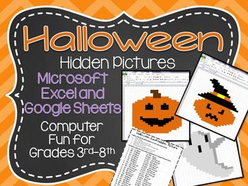 Halloween Hidden Pictures Excel