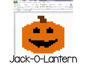 Halloween Hidden Pictures Excel