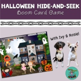 Halloween Hide-and-Seek Boom Card Game: Speech therapy, fa