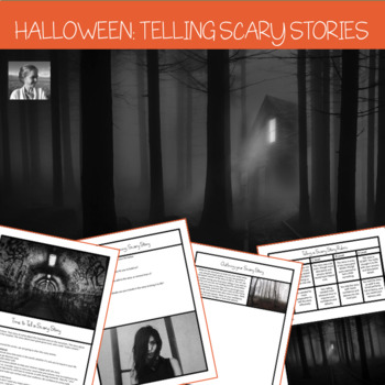 Halloween High School ELA Activity: Scary Story Telling