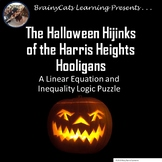 Halloween Hijinks:  One-Variable Equations and Inequalitie