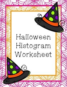 Halloween Histogram Worksheet