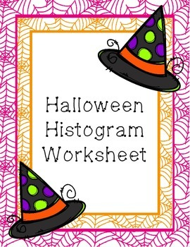 Halloween Histogram Worksheet