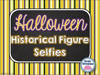 Halloween Historical Figure Selfie Activity