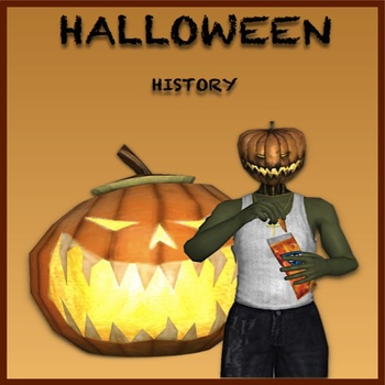 Halloween History - Comic Book