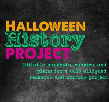 Halloween History Project