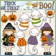 Halloween Hodge Podge Clip Art Bundle - 6 Colored Clip Art Sets