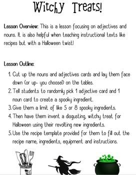 Halloween Holiday Bundle Activities Templates Worksheets Games GRADE 3-7