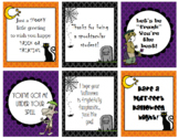 Halloween Holiday Cards - Pack 1