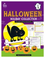 Halloween Holiday Collection, Grade 3