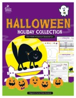 Halloween Holiday Collection, Grade 5