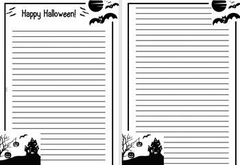 Halloween Holiday English Worksheets (primary)