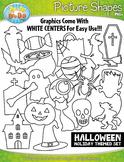 Halloween Picture Shapes {Zip-A-Dee-Doo-Dah Designs}