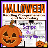 Halloween Readers Theater Holiday Script, Reading & Activi
