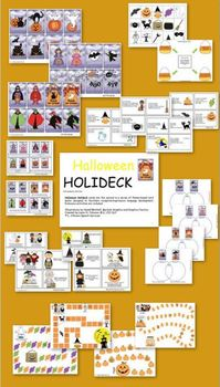 Halloween Holideck with Extension Activities