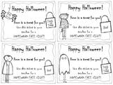 {FREEBIE} Halloween Homework Passes