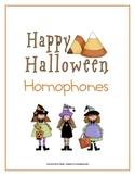 Homophones Game: Halloween