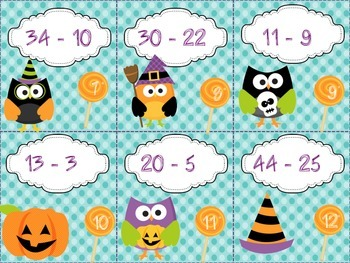 Halloween Hoot Differences-Differentiated