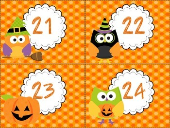 Halloween Hoot Even and Odd Sort-Differentiated