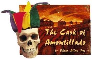 Cask of Amontillado by Edgar Allan Poe Activity Bundle