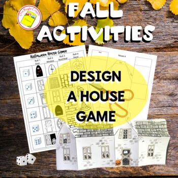 Halloween Game - Miniature House Classroom Decoration - Sub Work
