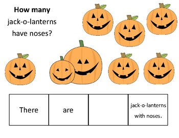 Halloween How Many, Where, and Who Questions