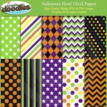 Halloween Howl Backgrounds