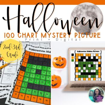 Halloween Hundred Chart Hidden Picture