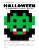 Halloween Hundreds Chart Coloring Pages