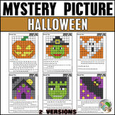 Halloween Hundreds Chart Mystery Picture