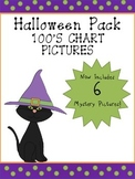 Halloween Hundreds Chart Picture Pack