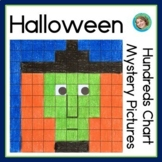 Halloween Hundreds Chart Mystery Pictures