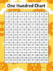Halloween Hundreds Charts - Set of 25 Different Styles