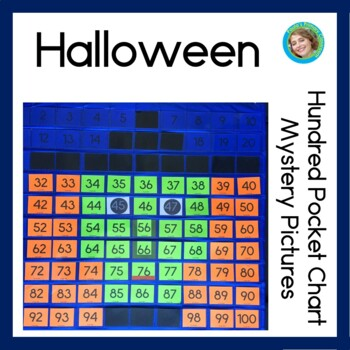 Halloween 100s Pocket Charts