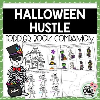 Halloween Hustle Toddler Curriculum