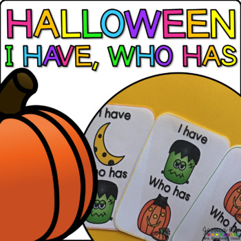 Halloween {I Have, Who Has}