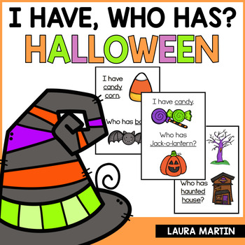Halloween-I Have, Who Has FREEBIE