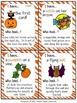 Halloween Activities Speaking & Listening I Have, Who Has Game