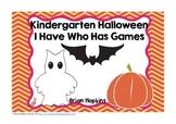Halloween I Have Who Has Kindergarten Games (4)