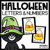"Halloween ""I Have, Who Has?"" Letter Recognition Game"
