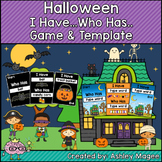 Halloween I Have, Who Has Ready-to-Print Game and Editable Template