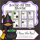 Halloween I Have, Who Has? Room on the Broom Inspired