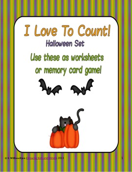 Halloween I Love To Count