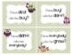 Halloween Owls ~ I have! Who has? Sight Word & Word Work Game - Grade 3 Bundle