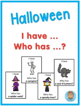ESL Halloween  I have ... Who has ...? game